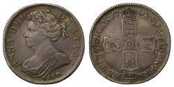 Ancient Coins - Anne 1702 VIGO Shilling, earliest date for Vigo coins