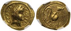 Julius Caesar, Gold Aureus VF 5/5-3/5