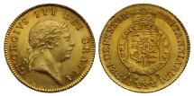 World Coins - George III 1813 Half-Guinea