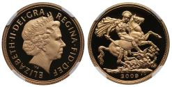 World Coins - Elizabeth II 2009 proof Sovereign PF69 ULTRA CAMEO