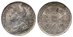 World Coins - George II 1739 Shilling