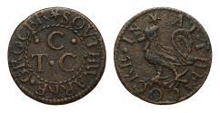 World Coins - 17th Century  Southwark Token T. C. C. at the cockerel