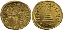 Ancient Coins - Constans II, Gold Solidus
