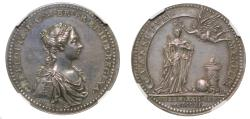 World Coins - Coronation of Charlotte, 1761.