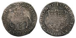 World Coins - Charles I lightweight issue Halfcrown