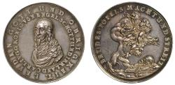 World Coins - Charles I, Death and Memorial, 1649.