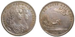 World Coins - Coronation of William and Mary, 1689.