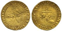 World Coins - Henry VI gold Angelot d'Or Paris