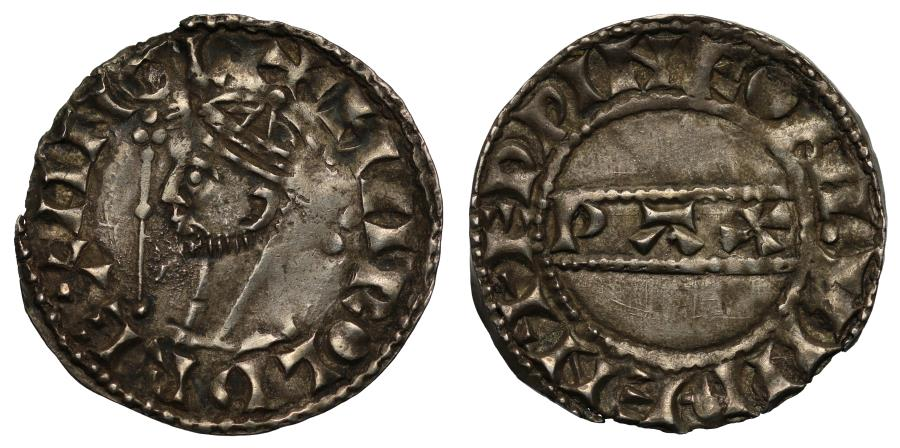 World Coins - Harold II PAX Penny London, moneyer Edwine