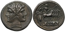 Ancient Coins - Anonymous, Silver Didrachm
