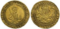 World Coins - Edward VI gold Sovereign, third period mm Tun Ex Sheffield and Law