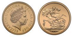 World Coins - Elizabeth II 2009 proof Five-pounds PR70 DCAM