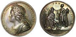 World Coins - George II, Coronation, 1727.