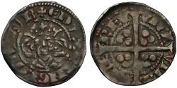 World Coins - Edward I Penny, Berwick Upon Tweed Mint, wide face