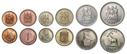 World Coins - Republic of Rhodesia, Proof Set 1975.