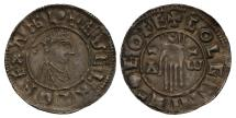 World Coins - Aethelred II Penny York, first hand type