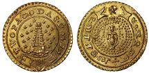World Coins - Madras, 2 Pagodas