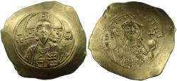 Ancient Coins - Michael VII, Electrum Histamenon Nomisma