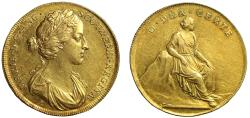 Ancient Coins - Coronation of Mary, 1685.