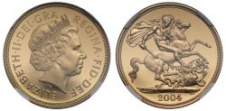 World Coins - Elizabeth II 2004 PF70 UCAM proof Two-Pounds