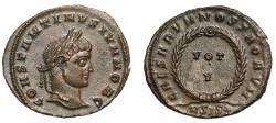Ancient Coins - Constantine II, Follis, ASIS*.