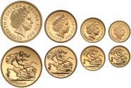 World Coins - Elizabeth II 2006 4-coin proof Set