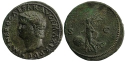 Ancient Coins - Nero, AE As