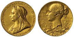 World Coins - Victoria, Diamond Jubilee, 1897.