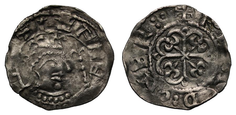 World Coins - Stephen Penny northern cross border variant of moneyer Erebald