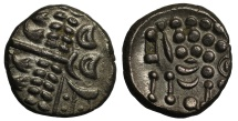 Ancient Coins - Durotriges Cranborne Chase silver Stater