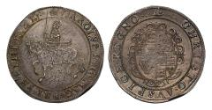 World Coins - Charles I Crown, type III, mm Crown / Crown over Bell, FRC XVI/XX*