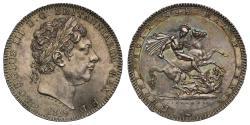World Coins - George III 1819 LIX Crown