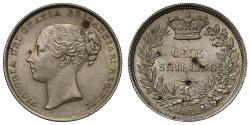 World Coins - Victoria 1852 Shilling