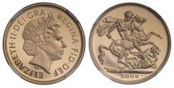 World Coins - Elizabeth II 2009 PF70 UCAM proof Sovereign