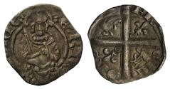 World Coins - Henry IV-VI Hardi d'Argent, annulet over crown and under each lis on reverse