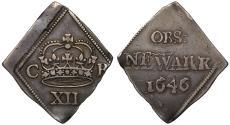 World Coins - Charles I 1646 Newark Shilling