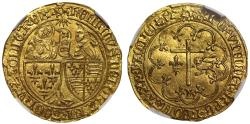 World Coins - Anglo Gallic, Henry VI Salut d'Or, Le Mans mint MS64