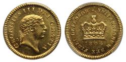 World Coins - George III 1804 Third-Guinea MS62