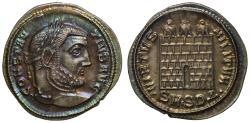 Ancient Coins - Constantius I, Silver Argenteus