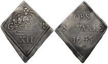 "World Coins - Charles I 1645 ""Newarke"" Shilling"