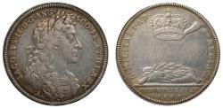 World Coins - Coronation of James II, 1685.