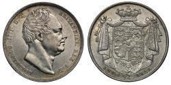 World Coins - William IV 1836 Halfcrown