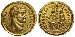 Ancient Coins - Galerius, Gold Aureus