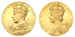 World Coins - Coronation of George VI, 1937.