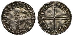 World Coins - Aethelred II Long Cross Penny, Leicester Mint, Moneyer Thurulf
