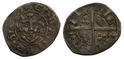 World Coins - Edward III Halfpenny Berwick