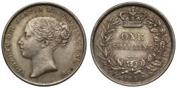 World Coins - Victoria 1846 Shilling