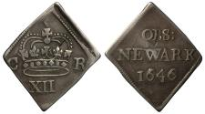 World Coins - Charles I 1646 Newark Shilling