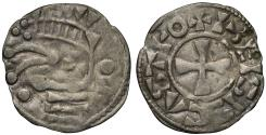 World Coins - France, Feudal (c.1037-89), silver Denier Blois mint