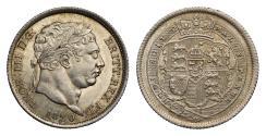 World Coins - Victoria 1893 proof Florin, older veiled head